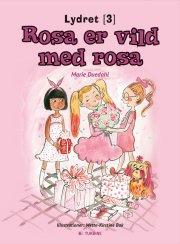 rosa er vild med rosa - bog