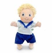 rubens barn dukke - cutie adam 32cm - Dukker