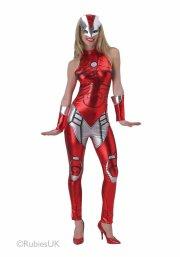 kostume / udklædning til voksne - rescue avengers - large - Udklædning Til Voksne