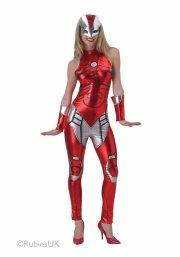 kostume / udklædning til voksne - rescue avengers - small - Udklædning Til Voksne
