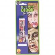 teaterblod / falsk blod - ekstra tykt - udklædning tilbehør - Udklædning