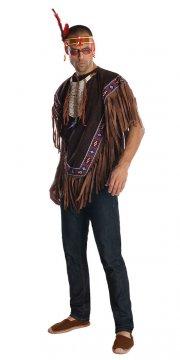 indianer kostume til voksne - x-large - Udklædning Til Voksne