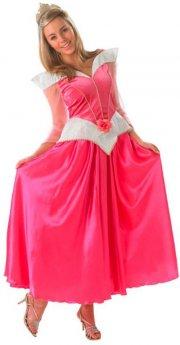tornerose kostume / kjole til voksne - small - rubies adult - Udklædning Til Voksne