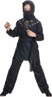 rubies ninja kostume / black ninja - medium - Udklædning
