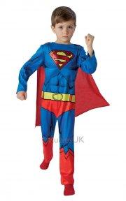 rubies - superman kostume - large - 7-8 år - Udklædning