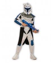 star wars kostume til børn - clone trooper kostume - medium 5-6 år - rubies - Udklædning