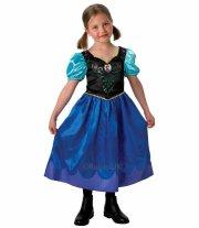 anna kostume til børn - disney frost - large - rubies - Udklædning