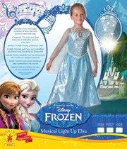 elsa kostume / kjole til børn - disney frost - small - Udklædning