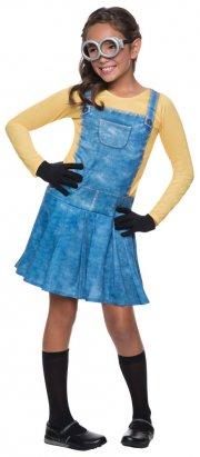 rubies minions kostume - kjole - 3-4 år - Udklædning