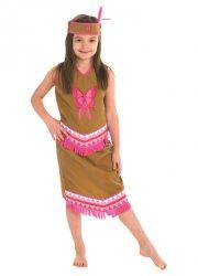 indianer kostume - pige - rubies - large - Udklædning