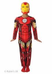 ironman kostume - deluxe - 7-8 år - rubies - Udklædning