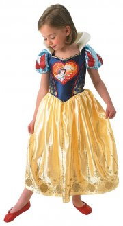 snehvide kostume - 7-8 år - rubies - Udklædning