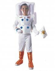 rubie astronaut kostume - hvid - small - Udklædning