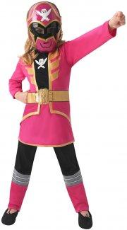 power rangers kostume - pink - 3-4 år - rubies - Udklædning