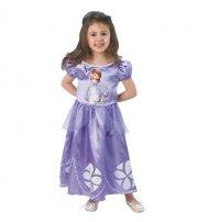 sofia den første kjole / udklædning - 5-6 år - rubies - Udklædning
