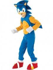 sonic the hedgehog kostume - 3-4 år - rubies - Udklædning