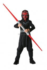 darth maul star wars kostume - 3-4 år - rubies - Udklædning