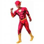 the flash kostume - inkl. brystmuskler - small - rubies - Udklædning