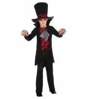rubies vampyr kostume - medium - 116cm - Udklædning