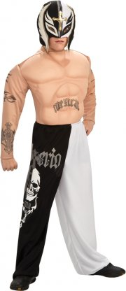 rubies - wwe - deluxe rey mysterio - small - 3-4 years (884301) - Udklædning