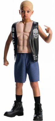 rubies - wwe - deluxe steve austin - small - 3-4 years (884303) - Udklædning