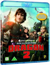 sådan træner du din drage 2 / how to train your dragon 2 - Blu-Ray