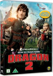 sådan træner du din drage 2 / how to train your dragon 2 - DVD
