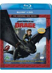 sådan træner du din drage / how to train your dragon  - Blu-Ray+Dvd