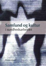 samfund og kultur i sundhedsarbejdet - bog