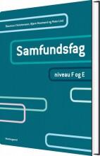 samfundsfag. niveau f og e - bog