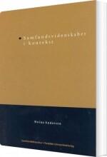 samfundsvidenskaber i kontekst - bog