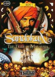 sandokan - tigeren fra malaysia - box 1 - DVD