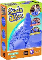 sands alive - starter set - blue - 450g - Kreativitet