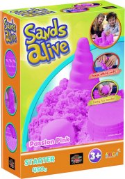 sands alive - starter set - pink - 450g - Kreativitet