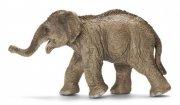 schleich - asiatisk elefant kalv - Figurer