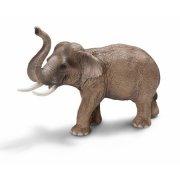 schleich - asiatisk hanelefant - Figurer