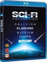 elysium / oblivion / ex_machina / chappie / battleship - Blu-Ray