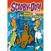 scooby-doo: male- og aktivitetsbog - bog