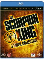 the scorpion king 1-3 trilogy - Blu-Ray