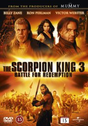 scorpion king 3 - battle for redemption - DVD