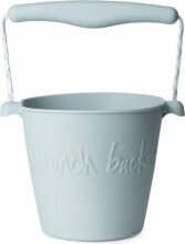 scrunch bucket / strand spand - lyseblå - Udendørs Leg