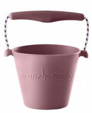 scrunch bucket / strand spand - dusty rose - Udendørs Leg
