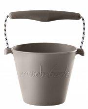 scrunch bucket / strand spand - grå - Udendørs Leg