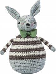 sebra - hæklet kanin - robert - Bamser