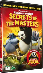 secret of the masters + secrets of the furious five - double feature - DVD