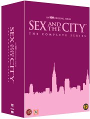 sex and the city - sæson 1-6 - the essential collection - DVD