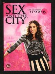 sex and the city - sæson 6 - DVD