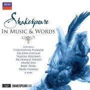 shakespeare in music & words  - 2Cd