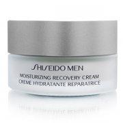 shiseido - men moisturizing recovery cream 50 ml. - Hudpleje