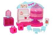 shopkins - cupcake queen cafe playset - Figurer